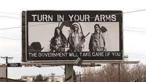 Turn in your guns, the government will protect you