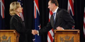 John Key, Hillary Clinton, Clinton Foundation, Fraud.